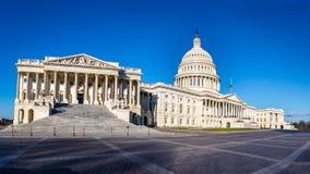 美国国会大厦大厦-华盛顿特区,美国全景  免版税库存图片