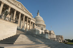 美国国会大厦大厦 免版税库存图片