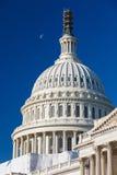 美国国会大厦的圆顶 免版税库存图片