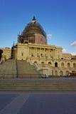 美国国会大厦的重建 库存图片