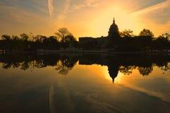 美国国会大厦,华盛顿特区,美国 免版税库存照片