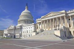 美国国会大厦,华盛顿特区 免版税图库摄影