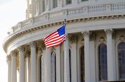 美国国会大厦 库存照片