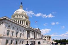 美国国会大厦 免版税库存图片