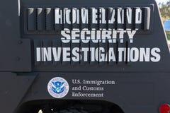 美国国土安全部商标 免版税库存图片