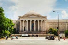 美国国家艺廊的西方大厦 图库摄影