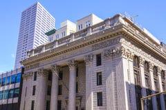 美国国家银行在波特兰-波特兰/俄勒冈- 2017年4月15日 库存照片