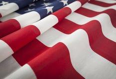 美国国旗摘要 免版税图库摄影