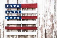 美国国旗特点  库存照片