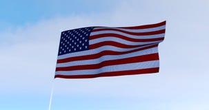 美国国旗美国 3d回报 图库摄影