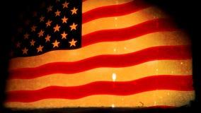 美国国旗难看的东西(HD圈) 库存例证