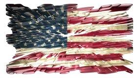 美国国旗,动画 影视素材