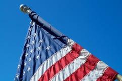 美国国旗细节 免版税库存照片