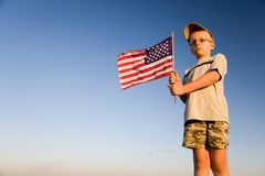 美国国旗 免版税库存图片