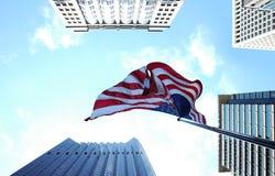 美国国旗 免版税图库摄影