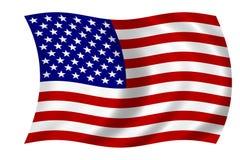 美国国旗 向量例证