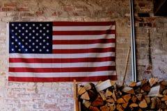 美国国旗 库存图片
