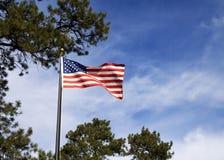 美国国旗 免版税库存照片