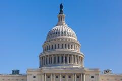 美国在华盛顿特区的国会大厦大厦 免版税库存照片