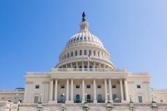 美国在华盛顿特区的国会大厦大厦 免版税图库摄影