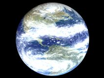 美国地球地球 免版税库存图片