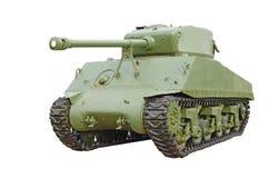 美国坦克谢尔曼 免版税库存图片