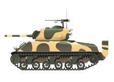 美国坦克 免版税库存照片