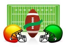 美国域橄榄球 免版税库存照片