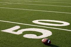 美国复制域橄榄球空间 免版税库存图片