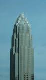 美国夏洛特NC银行  免版税库存图片
