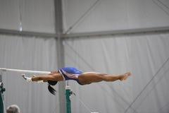 美国奥林匹克体操 库存图片