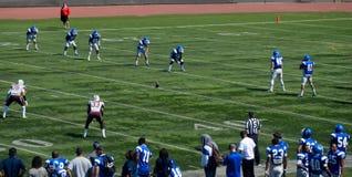 美国学院橄榄球 库存图片
