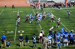 美国学院橄榄球 免版税库存照片