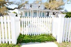 美国家庭豪宅南部的样式 图库摄影