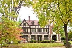 美国家: Bravarian样式豪宅 库存照片