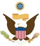 美国封印 免版税库存图片