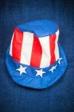美国帽子 免版税库存图片