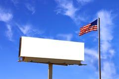 美国广告牌标志wi 库存照片