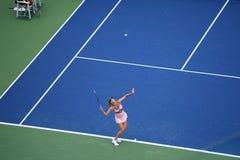 美国开张网球-玛丽亚Sharapova 图库摄影