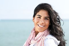 美国当地妇女年轻人 免版税图库摄影