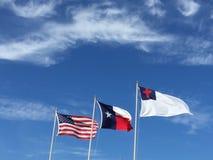 美国德克萨斯人和基督徒 免版税图库摄影