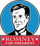 美国总统的露指手套Romney 库存例证