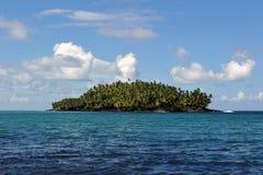 美国恶魔南法属圭亚那的海岛 免版税库存图片