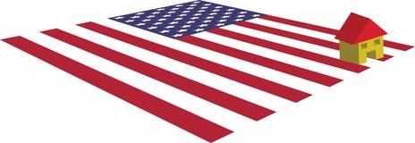 美国房产市场 库存例证