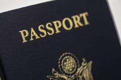 美国护照美国人 库存图片