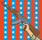美国攻击步枪 图库摄影