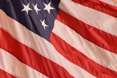美国旗子摘要纹理背景 免版税图库摄影