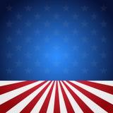 美国旗子样式背景 免版税库存照片