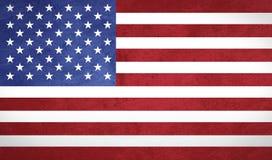 美国旗子纹理 免版税库存图片