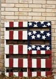 美国旗子艺术 免版税库存图片